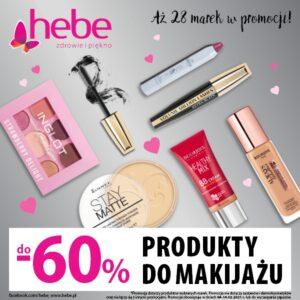Walentynki: Produkty do makijażu do -60%!