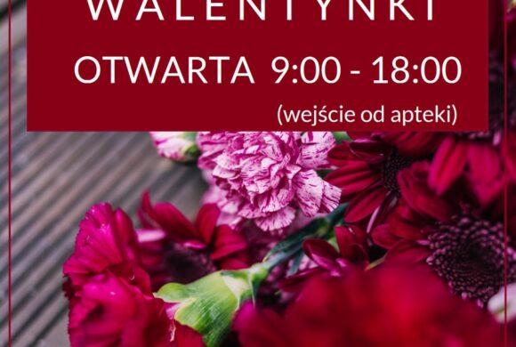 Kwiaciarnia RED ROSE czynna w tą niedzielę!