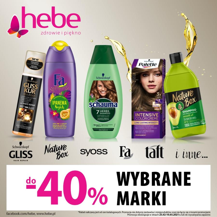 Wybrane marki do -40%