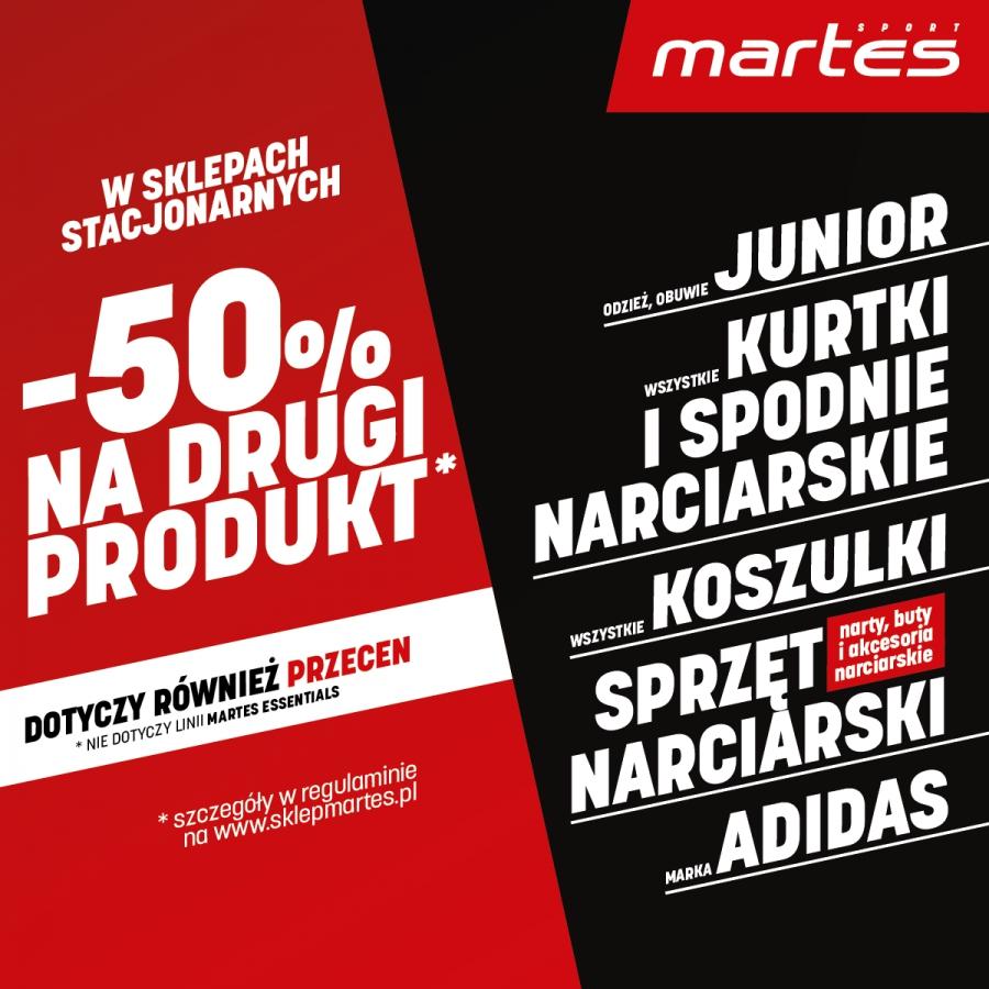Wielka wyprzedaż w Martes Sport!