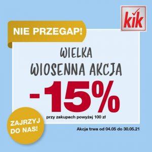 Wpadnij na wiosenne zakupy do KiK!