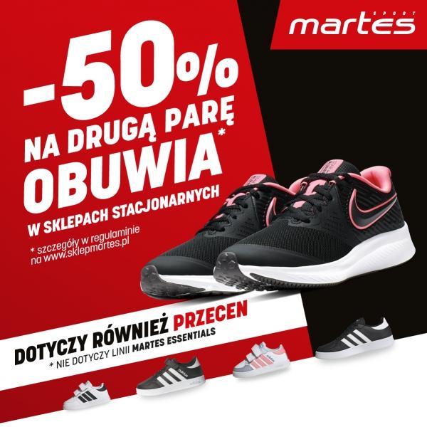 Promocje chodzą parami w Martes Sport!