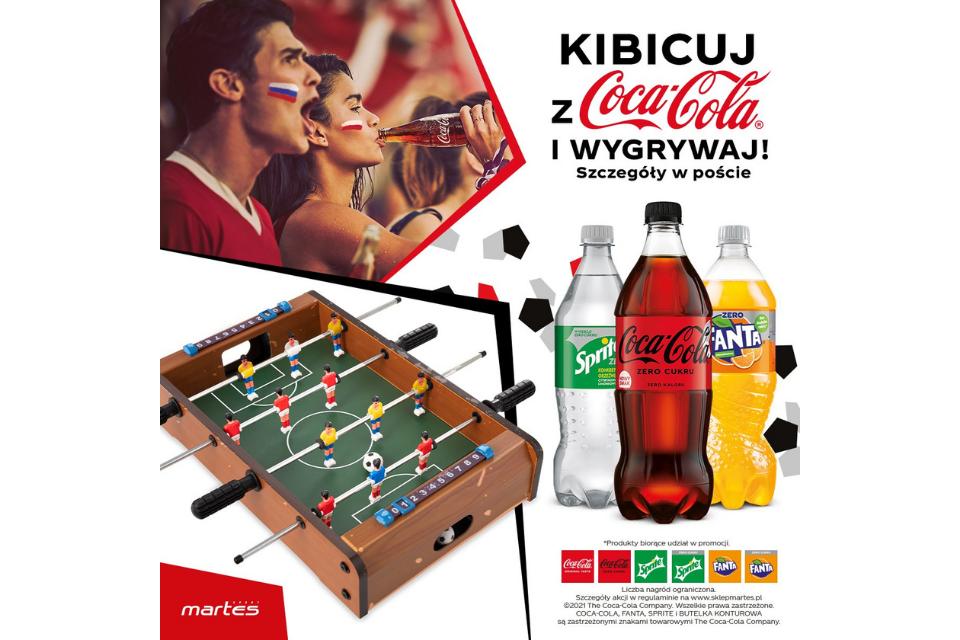 Gotowi na sportowe emocje z Martes Sport i Coca-Cola?