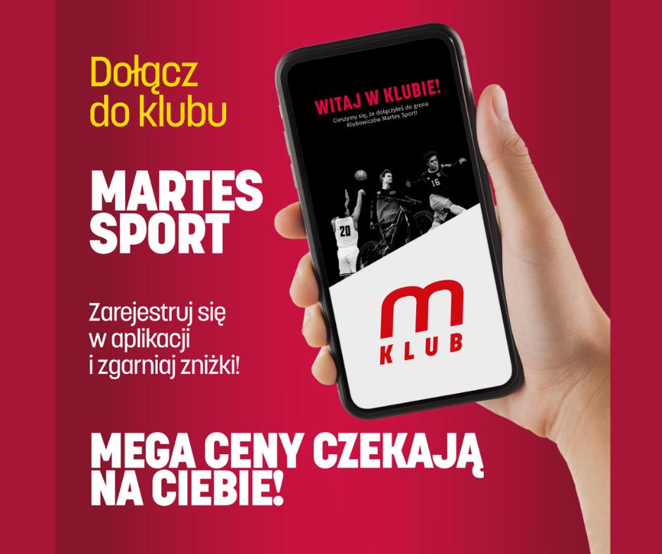 KLUB MARTES SPORT – Klub lojalnościowy – zaproszenie do udziału!
