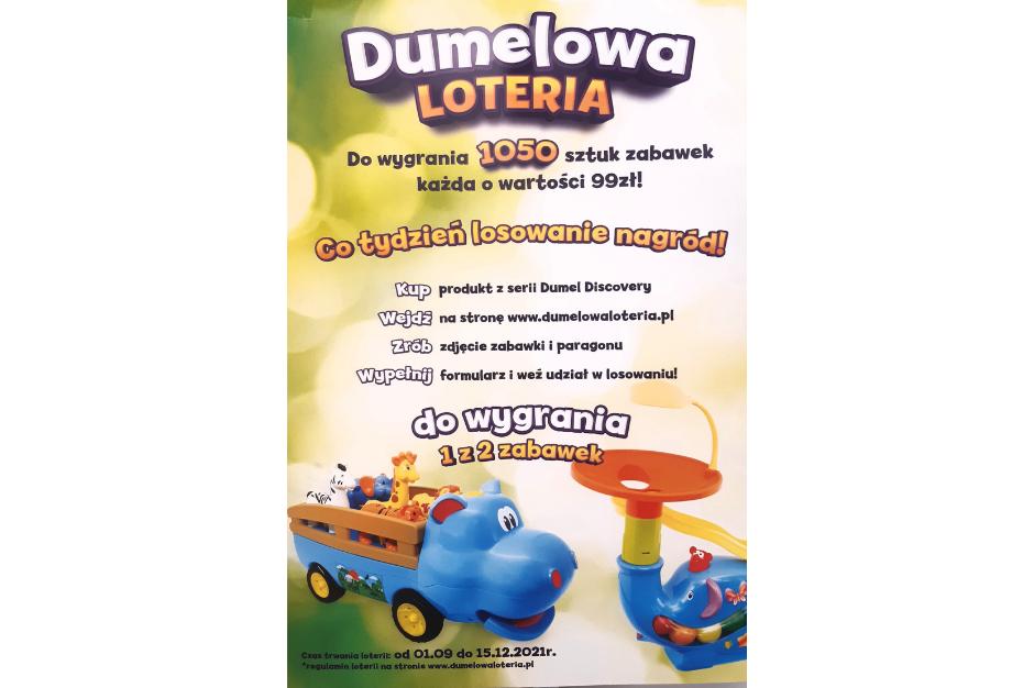 Dumelowa Loteria w Toys World!