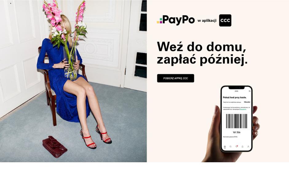 PayPo w aplikacji CCC!