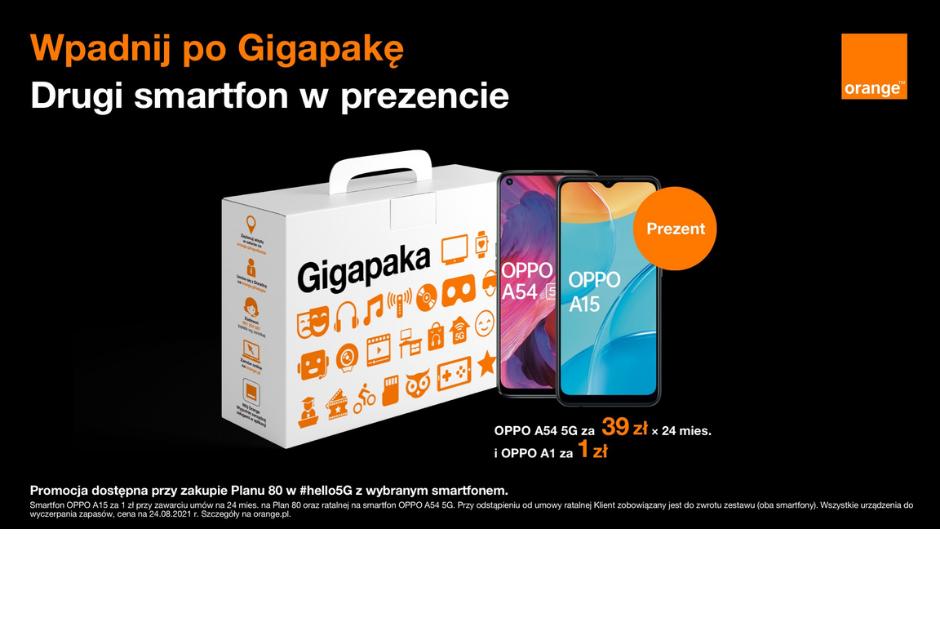 Wpadnij po Gigapakę do Orange