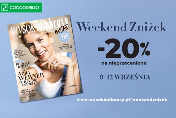 """Rabat -20% z magazynem """"Wysokie Obcasy""""!"""