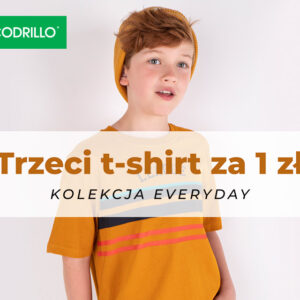 Trzeci t-shirt za 1zł!