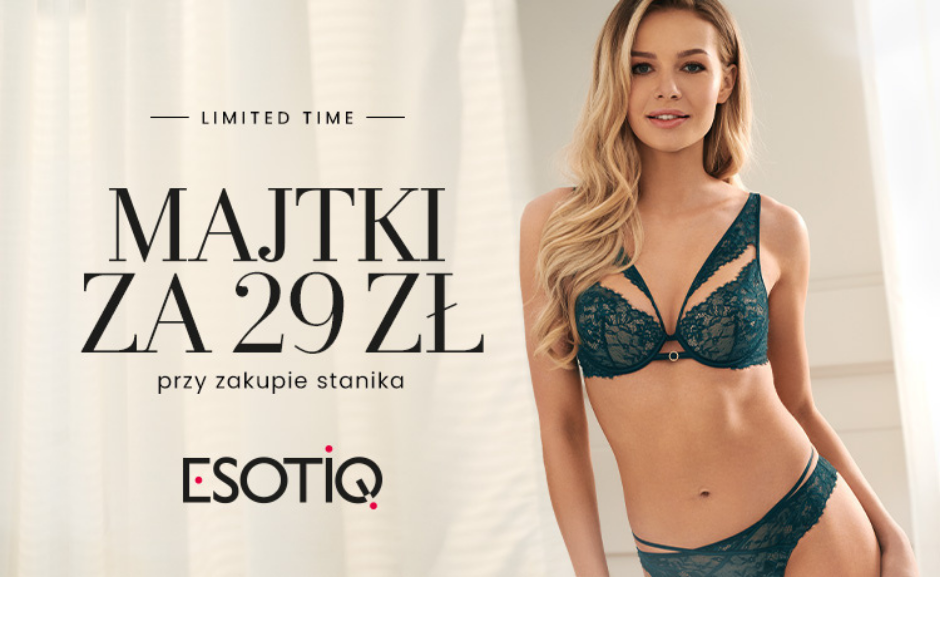ESOTIQ – limited time!